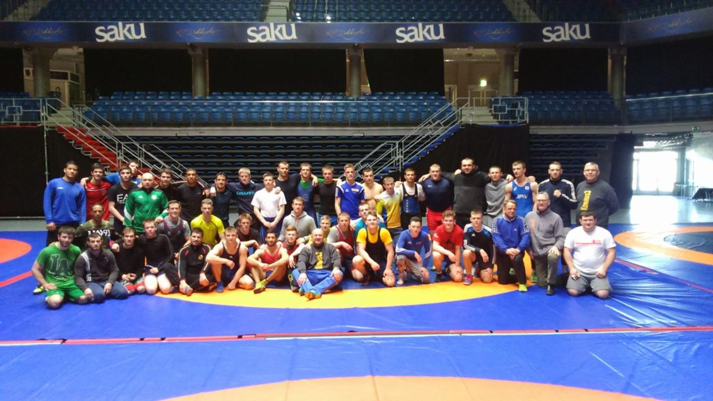 Cadets and Juniors at TALLINN OPEN Camp