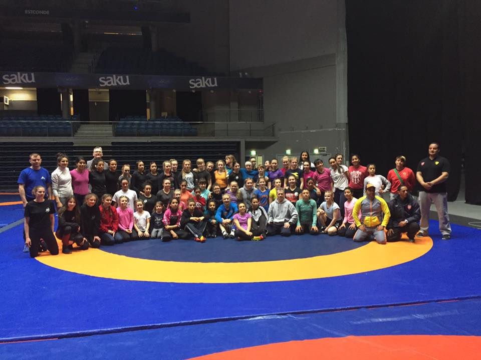 Girls at 2017 TALLINN OPEN Camp